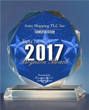 Best of Boynton Beach Auto Shipping Award